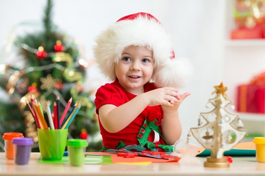 Εύκολες Χριστουγεννιάτικες κατασκευές για παιδιά 1