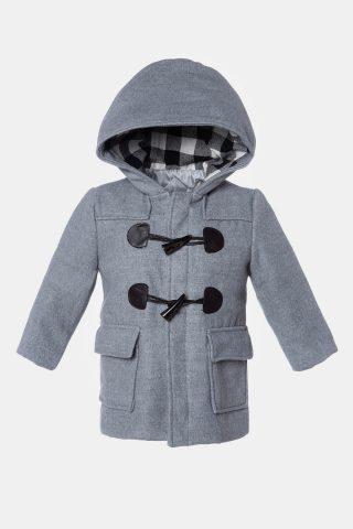 Παλτό με κουκούλα 1