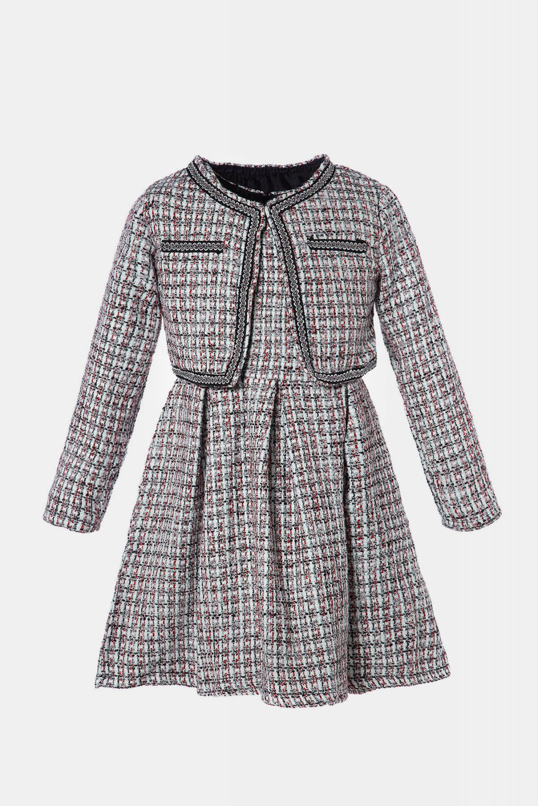 dccd1391a96 Καρό αμάνικο φόρεμα μαζί με ασορτί μπολερό για Κορίτσια 4-14 Ετών · Αρχική  σελίδαΠΡΟΣΦΟΡΕΣΦΘΙΝΟΠΩΡΟ ...