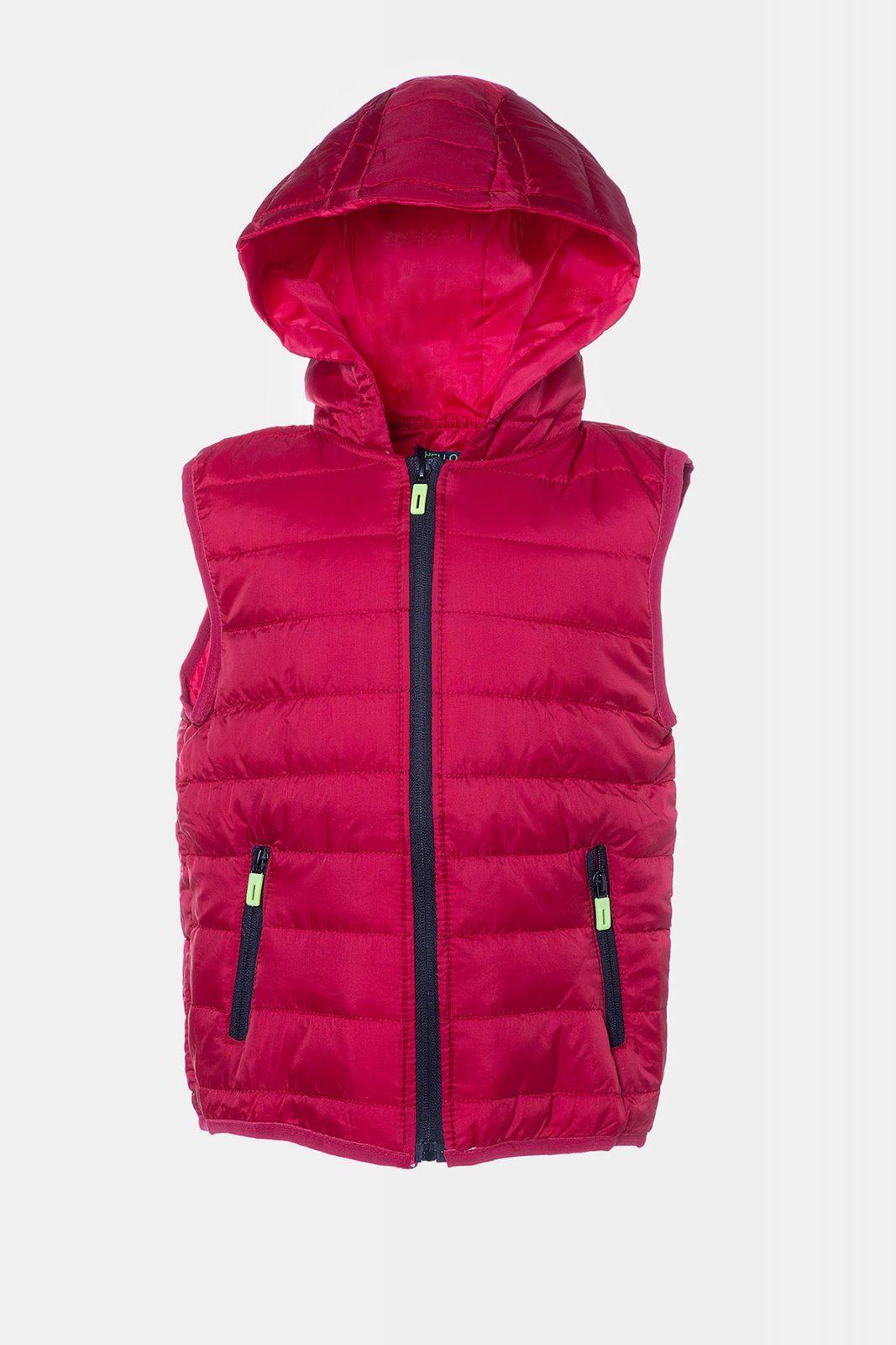 60fb128b9cc Κόκκινο παιδικό αμάνικο μπουφάν - Ersas Παιδικά, Βρεφικά Ρούχα