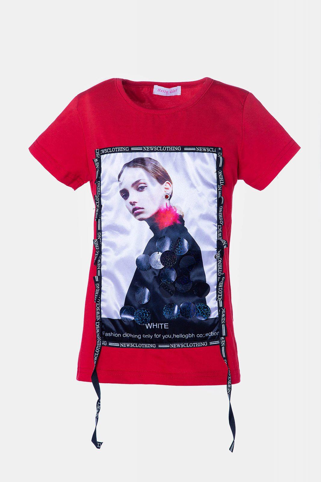 f1b728a90eee Κόκκινη μπλούζα για Κορίτσια - Ersas Παιδικά, Βρεφικά Ρούχα