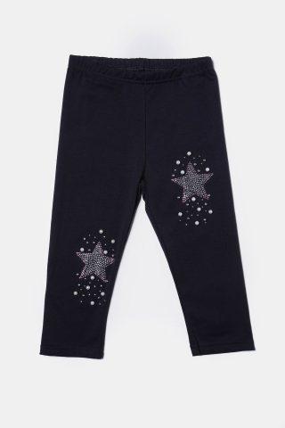 Παιδικό κολάν μαύρο με στράς αστέρια και πέρλες