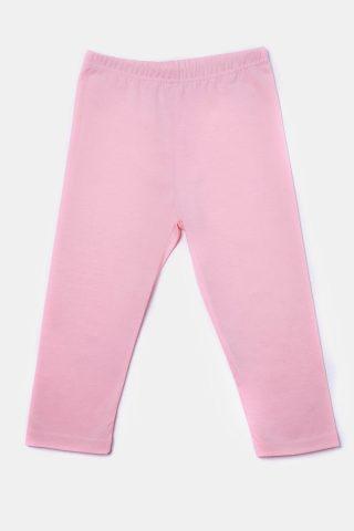 Ροζ κολάν για Κορίτσια με ελαστική εφαρμογή