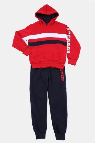 κόκκινη παιδική φόρμα για αγόρια
