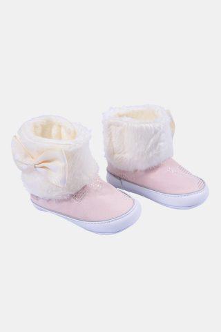 παπούτσια αγκαλιάς για κορίτσια με γουνάκι