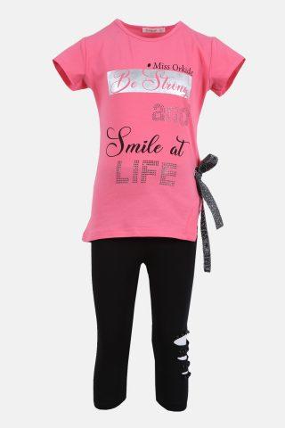 Παιδικό Σετ για Κορίτσια με Μπλούζα και Παντελόνι Κάπρι